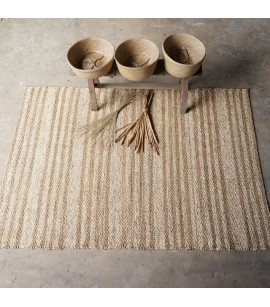 Mekong Area Rug - 150cm x 215cm - Water Hyacinth & Corn Husk Leaf Sustainable Natural Fibre - AR7