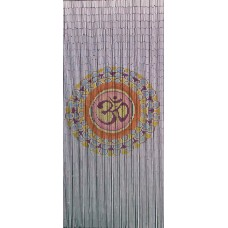 Bamboo Door Curtain Mandala