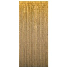 Bamboo Door Curtain Plain Natural