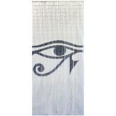 Bamboo Door Curtain Eye of Horus