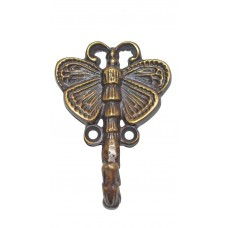 Brass Butterfly Hook