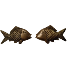 Brass Fish Handles - Left and Right
