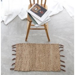 Mekong River Doormat - 45cm x 70cm - Water Hyacinth - 5 Pieces