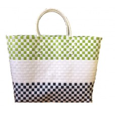 Carry All Large Woven Tote Bag -  Jane