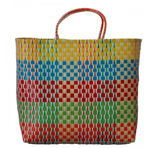 Carry All Large Woven Tote Bag Sienna