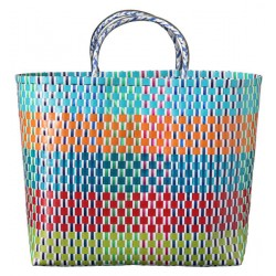Carry All Large Woven Tote Bag Sorrento