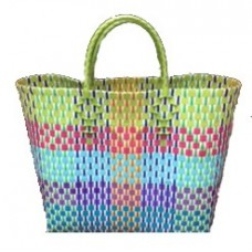 Carry All Large Woven Tote Bag - Ellen Design