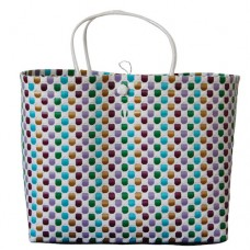 Carry All Large Woven Tote Bag Lulu - Double Layered