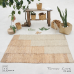 Paddle Field Area Rug - Water Hyacinth and Seagrass - 215cm x 150cm - AR4