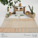 Paddle Field Area Rug - Water Hyacinth Seagrass - 180cm x 260cm - AR5