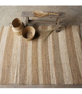 Mekong Area Rug - 150cm x 215cm - Water Hyacinth, Corn Husk Leaf Natural Fibres - AR4